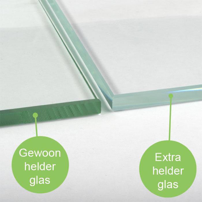 Extra helder glas