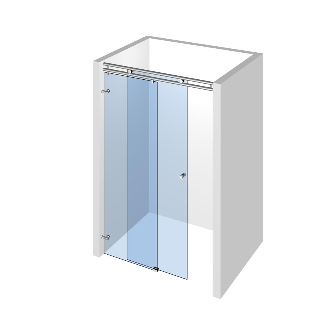 Dikte Afvoer Badkamer ~ Glazen douchedeuren op maat