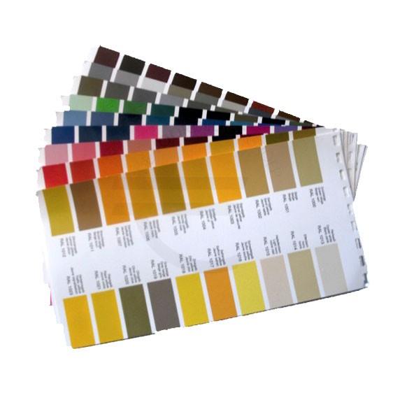 RAL kleurenkaarten