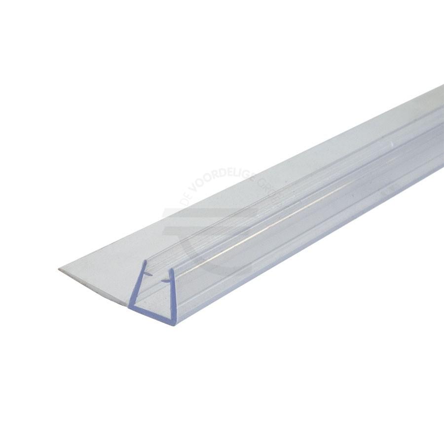 Douchestrip-lange-lip-schuifdeur-2200mm