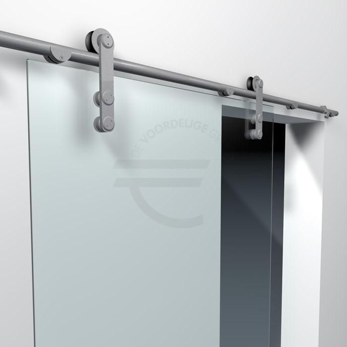 Schuifdeur-systeem-open-rails-helder-glas