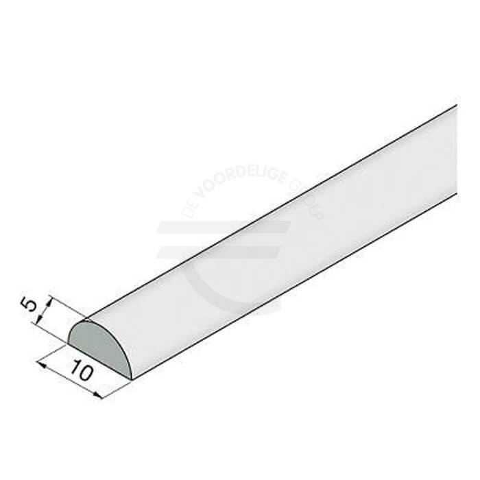 Transparante-lekdorpel-5mm