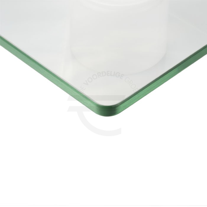 Ronde hoeken glas