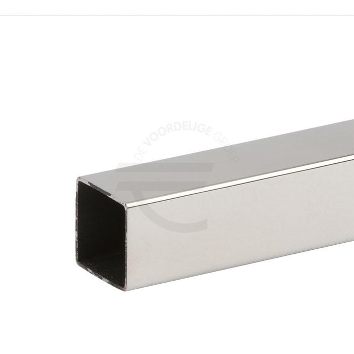 Vierkante-stabilisatiestang-glans-chroom-1000mm