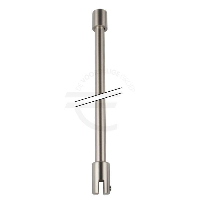 Ronde-stabilisatiestang-set-glas-wand-RVS-effect