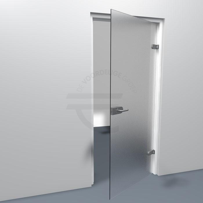 Stompe-binnendeur-mat-glas