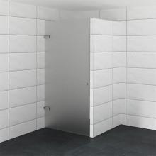 Luxe douchedeur op maat van matglas
