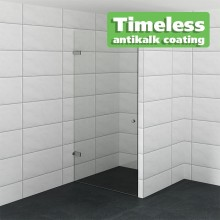 Luxe douchedeur op maat met antikalk coating