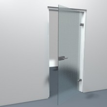 Stompe binnendeur master-carre glas
