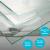 Randafwerking-float-groen-glas-10mm