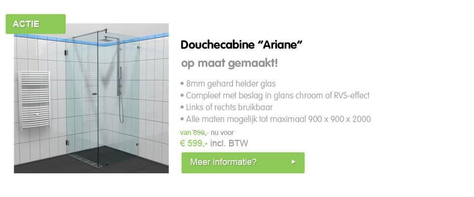 Douchecabine Ariane online samenstellen en bestellen
