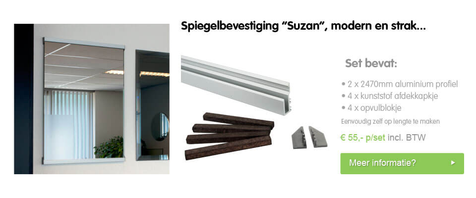 Spiegelbevestiging Suzan