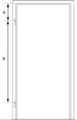 Opmeten-scharnieren-opdek-deur